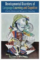 Snowling, Margaret J.; Hulme, Charles - Developmental Disorders of Language Learning and Cognition - 9780631206125 - V9780631206125