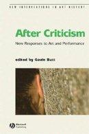 - After Criticism - 9780631232841 - V9780631232841
