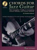 Johnson, Chad, Johnson, Charlton - Chords for Jazz Guitar - 9780634047145 - KDK0019322