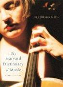 Randel, Don Michael - The Harvard Dictionary of Music - 9780674011632 - V9780674011632