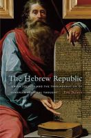 Nelson, Eric - The Hebrew Republic - 9780674062139 - V9780674062139