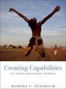 Nussbaum, Martha C. - Creating Capabilities - 9780674072350 - V9780674072350