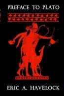 Havelock, Eric A. - Preface to Plato - 9780674699069 - V9780674699069