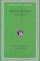 Hippocrates - Coan Prenotions, Anatomical and Minor Clinical Writings - 9780674996403 - V9780674996403