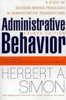 Simon, Herbert A. - Administrative Behavior - 9780684835822 - V9780684835822