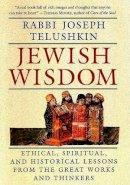 Telushkin, Rabbi Joseph - Jewish Wisdom - 9780688129583 - V9780688129583