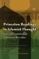 - Princeton Readings in Islamist Thought - 9780691135885 - V9780691135885