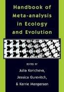 - Handbook of Meta-Analysis in Ecology and Evolution - 9780691137292 - V9780691137292