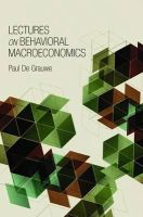 De Grauwe, Paul - Lectures on Behavioral Macroeconomics - 9780691147390 - V9780691147390