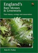 Porley, Ron D. - England's Rare Mosses and Liverworts - 9780691158716 - V9780691158716