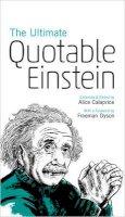 Einstein, Albert - The Ultimate Quotable Einstein (New in Paperback) - 9780691160146 - V9780691160146