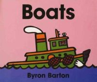 Barton, Byron - Boats Board Book - 9780694011650 - V9780694011650