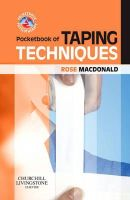 Macdonald BA  FCSP, Rose - Pocketbook of Taping Techniques (Physiotherapy Pocketbooks) - 9780702030277 - V9780702030277