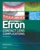 Efron, Nathan - Contact Lens Complications - 9780702042690 - V9780702042690