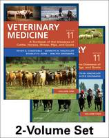 Constable BVSc  MS  PhD  Dipl ACVIM, Peter D., Hinchcliff BVSc  MS  PhD  DACVIM (Large Animal), Kenneth W, Done BA  BVetMed  PhD  DECPHM  DECVP  FRCVS - Veterinary Medicine: A textbook of the diseases of cattle, horses, sheep, pigs and goats - two-volume set, 11e - 9780702052460 - V9780702052460