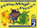 Sebba, Jane - Piano Magic Pieces: Bk. 2: Graded Repertoire for the Young Beginner (Book 2) - 9780713652116 - V9780713652116