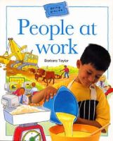 Taylor, Barbara - People at Work (Going Places) - 9780713659382 - V9780713659382