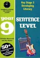 Barker, Ray - Year 09 Sentence Level (Ks3 Developing Literacy) - 9780713664850 - V9780713664850