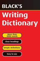 T J Hulme - Black's Writing Dictionary - 9780713665123 - V9780713665123