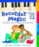Moses, David - Recorder Magic Piano Accompaniments (Bk.1-4) - 9780713670448 - V9780713670448