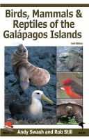 Swash, Andy - Birds, Mammals, and Reptiles of the Galapagos Islands - 9780713675511 - V9780713675511