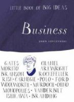 John Lipczynski - Little Book of Big Ideas: Business - 9780713686142 - KHS1023502