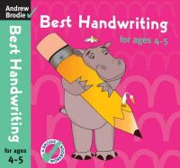 Andrew Brodie - Best Handwriting for Ages 4-5 - 9780713686463 - V9780713686463