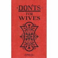 Blanche Ebbutt - Don'ts for Wives - 9780713687903 - KRA0005891