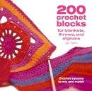 Jan Eaton - 200 Crochet Blocks for Blankets, Throws and Afghans - 9780715321416 - V9780715321416