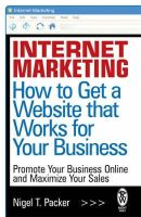 Packer, Nigel T. - Internet Marketing: How to get a Website that Works for Your Business - 9780716030201 - V9780716030201
