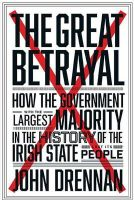 John Drennan - The Great Betrayal - 9780717168750 - KEX0277081