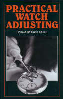 de Carle, Donald - Practical Watch Adjusting - 9780719800504 - V9780719800504