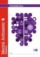 Goddard, T.R.; Adams, J.W.; Beaumont, R.P. - Mental Arithmetic Answer Book 4 - 9780721708089 - V9780721708089