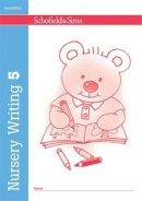 Linaker, Kathryn - Nursery Writing Book 5 - 9780721708232 - V9780721708232