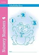 Johnson, Sally - Nursery Numbers Book 4 - 9780721708706 - V9780721708706