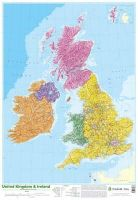 *             , - Map of UK and Ireland - 9780721709383 - V9780721709383