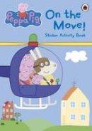Ladybird - Peppa Pig: On the Move! Sticker Activity Book - 9780723269328 - V9780723269328