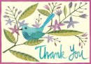 Galison - Avian Friends Parcel Thank You Notes - 9780735330740 - V9780735330740