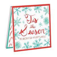 Galison - Tis The Season Holiday Labels - 9780735338456 - V9780735338456