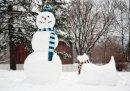 George Oze - Snowman & Snowdog Half Note (Christmas Half Note Box Notecard) - 9780735341302 - V9780735341302