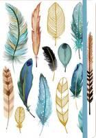Margaret Berg - Feathers Gilded Journal - 9780735342040 - V9780735342040
