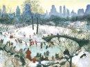Galison - Skating in Central Park Boxed Holiday Full Notecards - 9780735344198 - V9780735344198