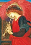 Galison - Red Harmonious Angel Boxed Holiday Half Notecards - 9780735344204 - V9780735344204