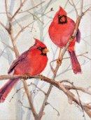 Galison - Cardinal Brothers Boxed Holiday Full Notecards - 9780735344228 - V9780735344228