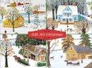 Galison - Folk Art Christmas Deluxe Notecard Collection - 9780735344372 - V9780735344372