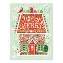 Galison - A Sweet Christmas Large Embellished Notecards - 9780735347373 - V9780735347373