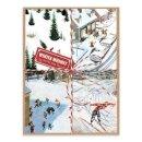 Galison, Alajalov, Constantin - Winter Whimsy Deluxe Notecard Collection - 9780735347724 - V9780735347724