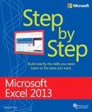 Frye D., Curtis - Microsoft Excel 2013 Step by Step (Step By Step (Microsoft)) - 9780735681019 - V9780735681019