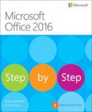 Lambert, Joan; Frye, Curtis - Microsoft Office 2016 Step by Step - 9780735699236 - V9780735699236