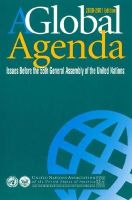 - A Global Agenda: 55th: Issues Before the 55th Assembly of the United Nations (Global Agenda: Issues Before the United Nations) - 9780742509405 - KRS0020275